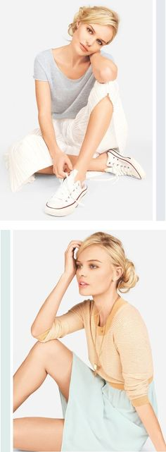 converse and pleats