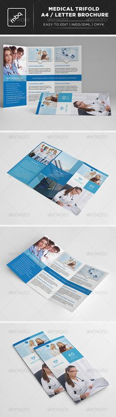 Medical Trifold A4 / Letter Brochure