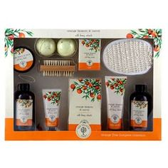 The Orange Tree Complete Toiletries Collection - ASDA Groceries Asda, Improve Yourself, Gifts For Her, Orange, Shopping, Collection, Ideas, Thoughts