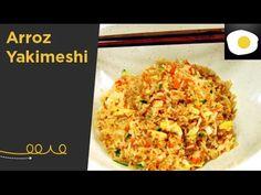 Programa de cocina oriental, tan de moda en nuestro país. El Maestro Hung Fai Chiu Chi elabora, paso a paso, platos de la cocina japonesa y nos demuestra lo ... Sushi Recipes, Recipies, Chef Taico, Arroz Frito, Brunch, Fried Rice, Food Videos, Fries, Ethnic Recipes