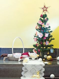 What's Christmas without a tree...after all we need a place to keep the gifts! :)