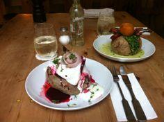 Empfehlung von HIP HIT HURRA! Süßmund in München (Glockenbachviertel). Restaurant, regionale und Saisonale Gerichte, Ofenkartoffeln