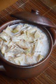 Diah Didi's Kitchen: Gudeg Yogya... Buatan Sendiri..Komplet..Plus Step By Step Cara Pembuatannya...^^ Indonesian Food, Indonesian Recipes, Diah Didi, Nom Nom, Cabbage, Food And Drink, Menu, Potatoes, Asian