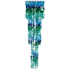 Pier 1 Imports Capiz Wind Chimes ($56) ❤ liked on Polyvore featuring home, outdoors, outdoor decor, blue, handmade wind chimes, pier 1 imports, patio decor, outdoor wind chimes and outdoor garden decor