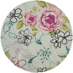 @Overstock.com - Handmade Chatham Roses Blue New Zealand Wool Rug (7' Round) - The deco rugs were made with museum inspired designs and handcrafted using the highest quality material available.  http://www.overstock.com/Home-Garden/Handmade-Chatham-Roses-Blue-New-Zealand-Wool-Rug-7-Round/6539777/product.html?CID=214117 $279.99
