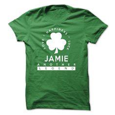 St Patrick Day JAMIE T-Shirts, Hoodies. SHOPPING NOW ==► https://www.sunfrog.com/Birth-Years/St-Patrick-Day--JAMIE.html?id=41382
