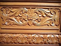 VK is the largest European social network with more than 100 million active users. Pooja Door Design, Door Design Interior, Wood Carving Designs, Wood Carving Patterns, Wood Chair Design, Wood Design, Wooden Wall Panels, Wooden Doors, Carved Wood Wall Art