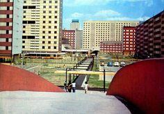 Unidad Habitacional Nonoalco-Tlatelolco, México DF 1964   Arqs. Mario Pani y Luis Ramos -  City Housing, Nonoalco-Tlatelolco, Mexico City 1964