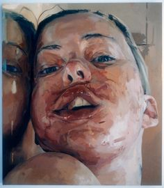 d e s f i g u r a c i ó n jenny saville Jenny Saville, James Turrell, Glasgow School Of Art, Gcse Art, Natural Forms, Conceptual Art, Contemporary Paintings, Artist At Work, Cambridge United