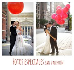 Globos rojos. Ideas para bodas en San Valentín