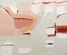 thunderstruck9:  Jean leFebure (Canadian, 1930-2013), Abstraction, 1966. Oil on canvas, 60 x 72 cm.