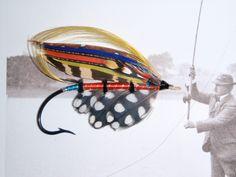 Sunbird Fishing Guide, Fly Fishing, Salmon Flies, Vintage Fishing, Fly Tying, Hunting, Porn, Tie, Traditional