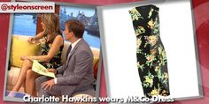Want to know where Charlotte Hawkins got her dress from on Good Morning Britain? Style on Screen can tell you! Charlotte Hawkins, Good Morning Britain, Wrap Dress Floral, Dresses, Style, Fashion, Vestidos, Swag, Moda