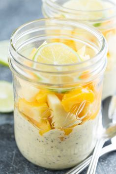 Mango Lime Chia Pudding   GI 365