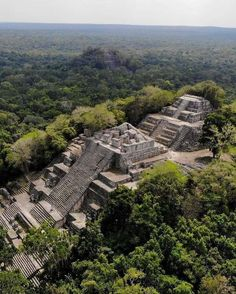 Calakmul, Campeche Classical Period, Sturgeon Moon, Tikal, Ancient Ruins, Archaeological Site, Old Buildings, Central America, Belize, Scenery