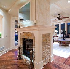 Stone Fireplace And Tv Mendota Fireplace