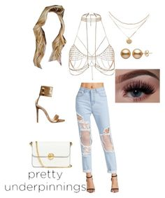 """Untitled #81"" by holderafiya on Polyvore featuring Gianvito Rossi, River Island and Tory Burch"