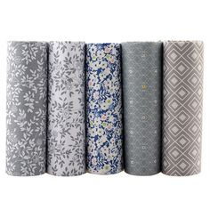 Cheap tissue cloth, Buy Quality patchwork tissu directly from China cotton fabric patchwork Suppliers: Twill Cotton Fabric Patchwork Tissue Cloth Of Handmade DIY Quilting Sewing Baby&Children Sheets Dress Material Sewing Dolls, Sewing Clothes, Diy Clothes, Couture, Sewing Crafts, Sewing Projects, Diy Crafts, Grey Flowers, Patchwork Fabric