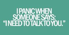 its a habit :)