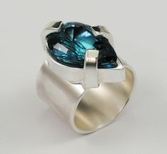 Judie Raiford Blue #Topaz Ring