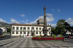 Praça do Municipio, Funchal mit Rathaus