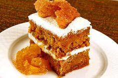 carrot cake from SW Steakhouse at Wynn in Las Vegas