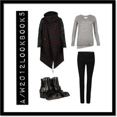"""""""A/W 2012 Lookbook 5"""" by allsaints ❤ liked on Polyvore"""