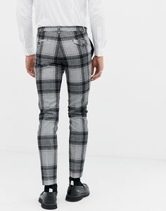 Shop the latest Twisted Tailor super skinny suit pants with bold check in wool trends with ASOS! Suit Pants, Suit Jacket, Mens Plaid Pants, Funky Pants, Wool Shop, Skinny Suits, Super Skinny, Fashion Online, Fitness Models