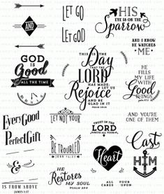 Phrases & Praises Stamp Set