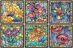 BFC-Creations AD:  Stained Glass Floral Squares III @ BFC!