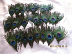 100pcs/lot Peacock eye feathers for Wedding by weddingfeather, $39.00