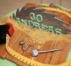 Birthday cake carpenter