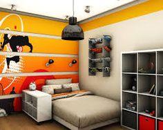 Tinifiú szoba - sárga árnyalatban