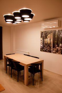 Ideas de Decoracion de Comedor, Salon, estilo Contemporaneo diseñado por ALBERT SALVIA dissenyador d'interiors Decorador con #Sillas #Mesas de comedor #Madera  #CajonDeIdeas