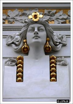 Art Nouveau and Jugendstil - Page 2 - SkyscraperCity Belle Epoque, Architectural Sculpture, Art Nouveau Architecture, Art Nouveau Design, Oeuvre D'art, New Art, Sculptures, Drawings, Artwork