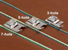 5-hole Cording Foot - 494570-20B (ESG-CF5) (SA157)