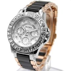 FW830AF PNP Shiny Silver Watchcase Water Resist White Dial Ladies Bracelet Watch