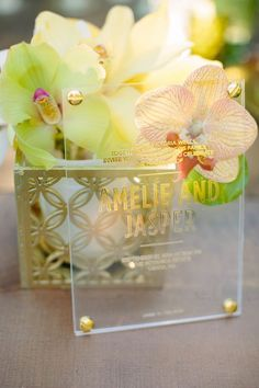 Bliss and Bone wedding invitation | Joielala Photography | see more on: http://burnettsboards.com/2014/05/colorful-tropical-wedding-ideas/