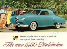 1950 Studebaker ad.