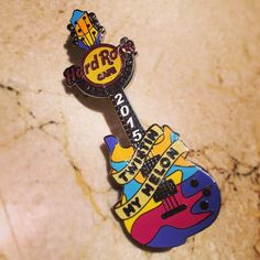 NEW PIN ALERT: The third of 12 new Limited Edition pins, released to celebrate our 15th Anniversary this year, is now available in our Rock Shop! There are only 300 of each and symbolise famous Manchester bands! #ShowUsYourPin