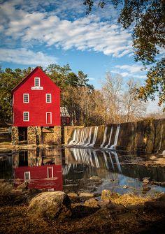 Starr's Mill by Glenn Taylor, via Flickr