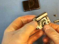 Zip Gun Home Made Concealed in Zippo
