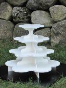 Medium Flower Cupcake Stand