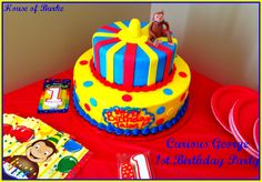 House of Burke: Talon's Curious George Themed 1st Birthday Party!