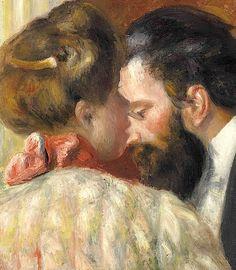 'Confidence', by Pierre Auguste Renoir (1841-1919).