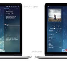 The Next Mac OS [UPDATED] by Edgar Rios, via Behance