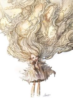 Digital Illustrations by Jie He