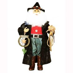 Cowboy Santa - available in store or online at www.generalstorestockyards.com