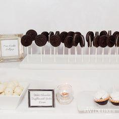 Oreo Lollipops and truffles.