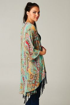 Chiffon Laurie Cardigan | Awesome Selection of Chic Fashion Jewelry | Emma Stine Limited